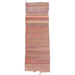 Vintage Persian Long Kilim Rug