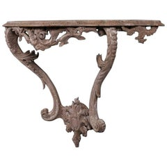 Early 19th Century Italian Pine Console Table
