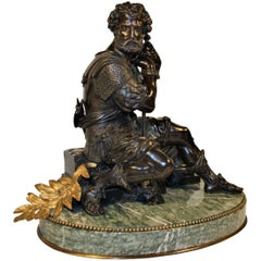 Exceptional Early 19th Century Bronze of a Roman Warrior