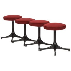 Four George Nelson Stool by Herman Miller, 1950s