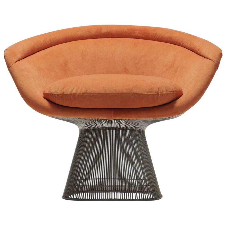 Warren Platner Lounge Chair for Knoll International at 1stdibs