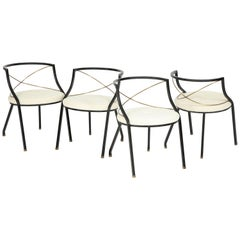Maison Jansen Style Side Chairs
