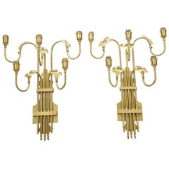 Large Swedish Sconces