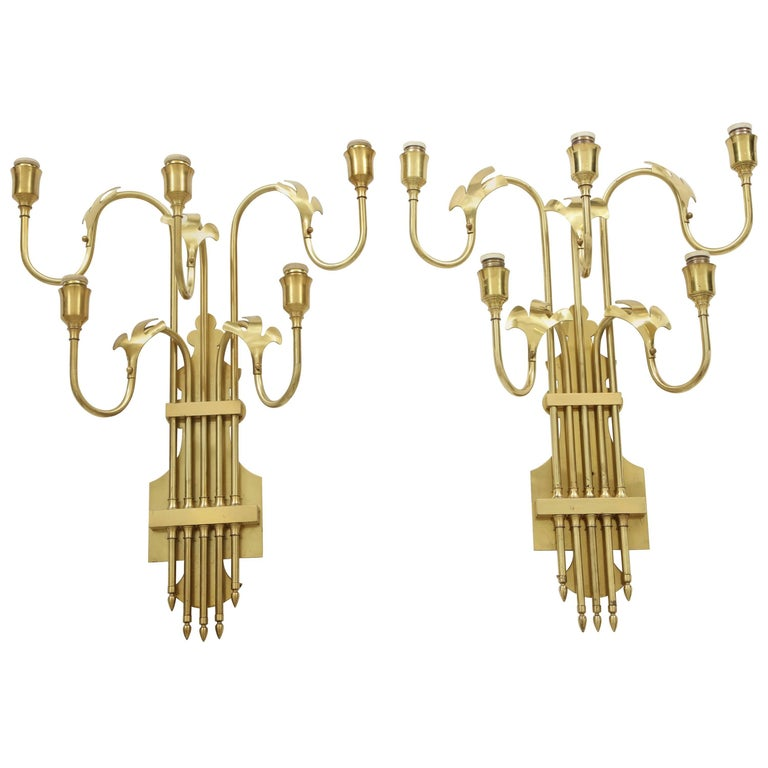 Large Swedish Sconces For Sale
