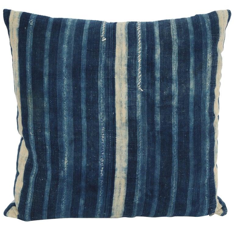 Antique African Textile Pillow