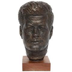 John F Kennedy Bust