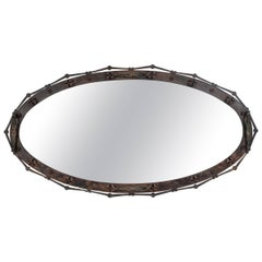 Massive and Unique Arturo Di Modica Mirror, One of a Kind