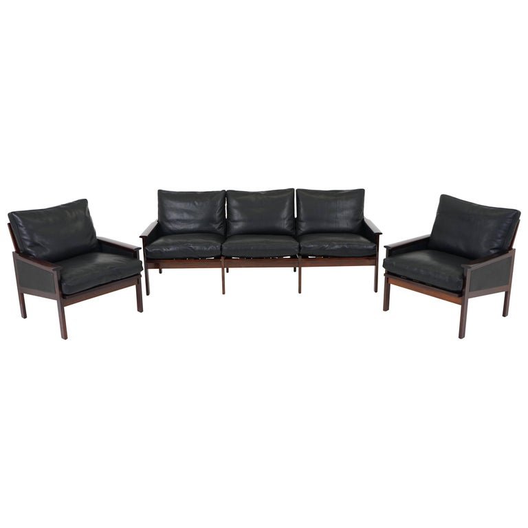 Sofa Set by Illum Wikkelsø for Niels Eilersen