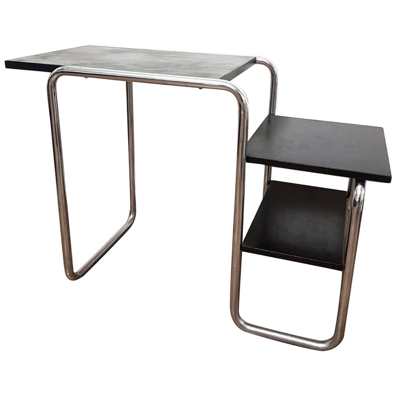 Marcel Breuer Desk by Bigla 1930 Marked For Sale at 1stdibs