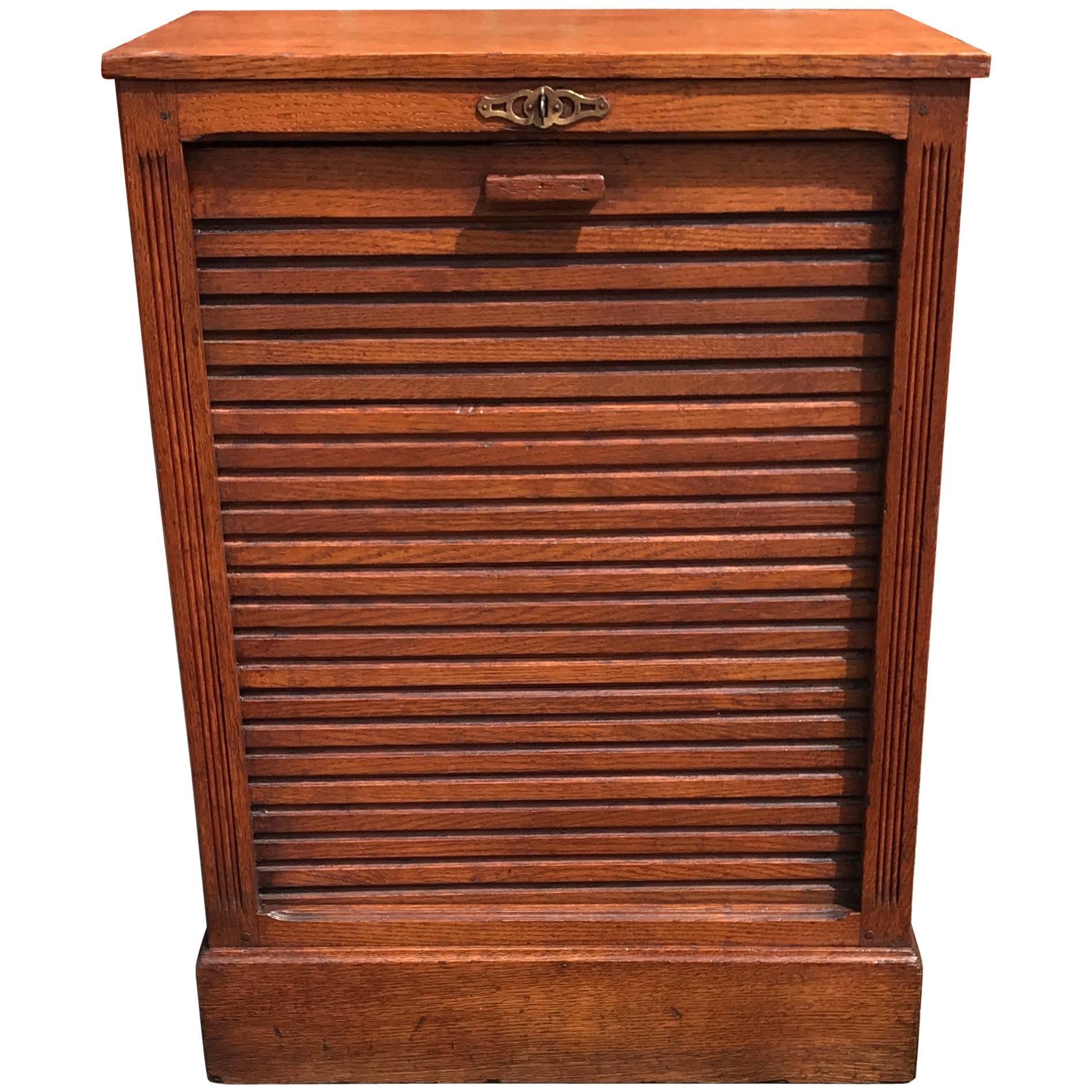 French Vintage Mahogany Inlay Sheet Music Cabinet at 1stdibs