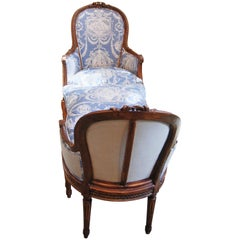 19th Century Walnut Duchess