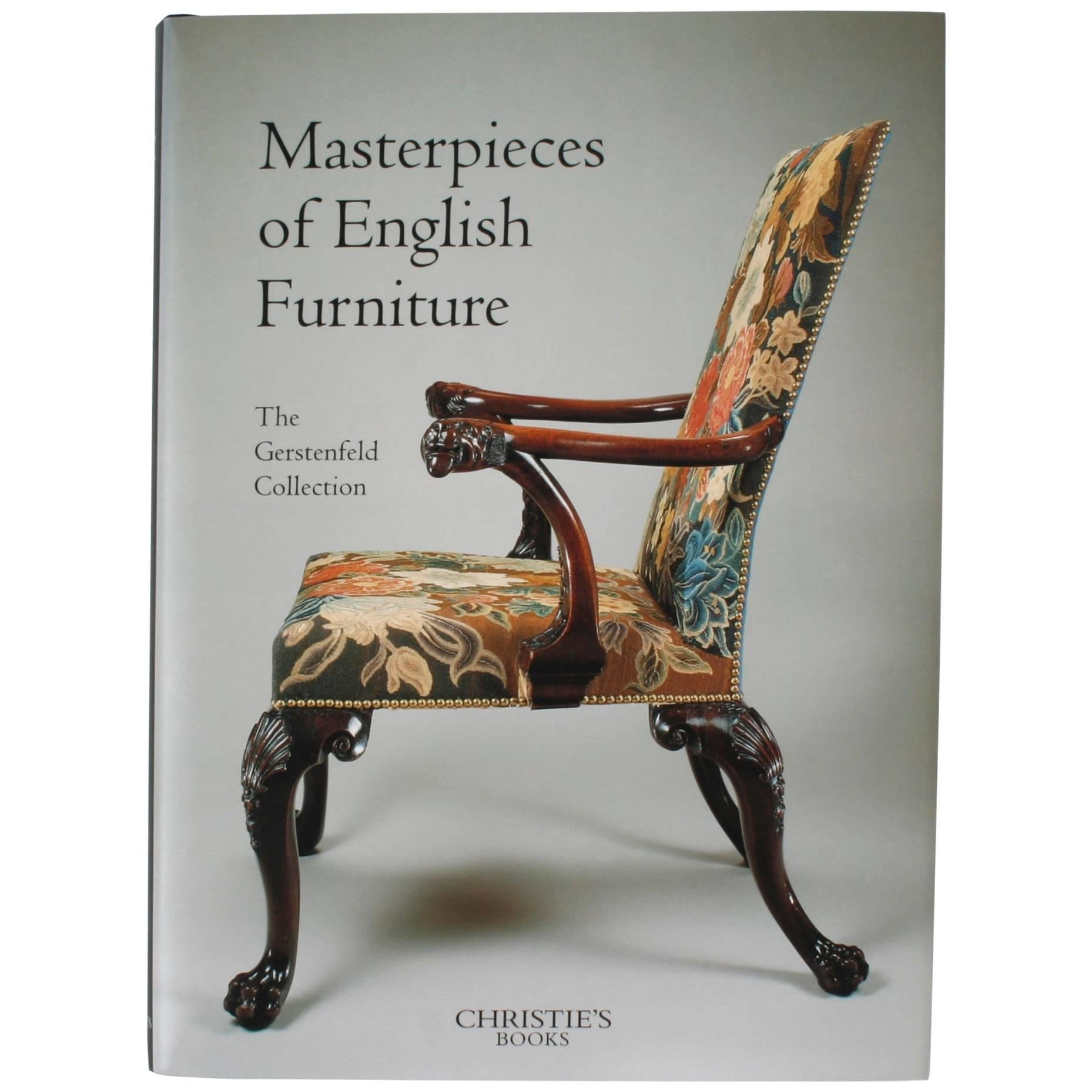 Masterpieces of English Furniture, The Gerstenfeld Collection, 1st Edition