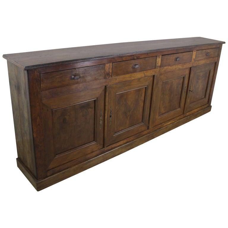 antique four door chestnut enfilade at 1stdibs. Black Bedroom Furniture Sets. Home Design Ideas
