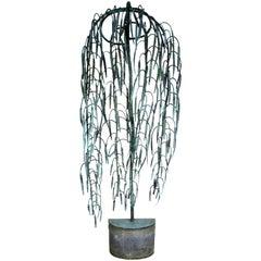 Antique Weeping Willow Garden Fountain