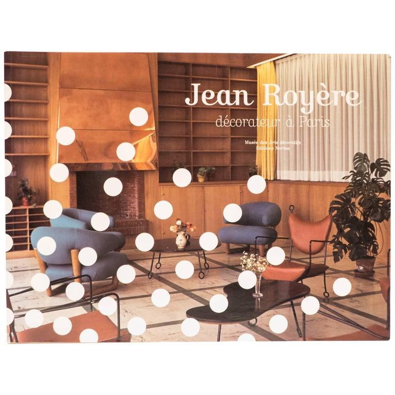 """""""Jean Royère, Decorateur a Paris"""" Book"""