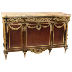 Exceptional Late 19th Century Gilt Bronze-Mounted Commode by Henry Dasson