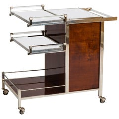 Jacques Adnet Bar Cart