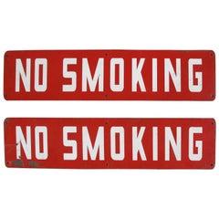 """No Smoking"" Signs"