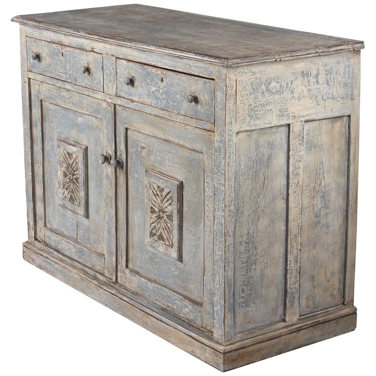 french napoleon iii painted walnut buffet late 1800s for sale at 1stdibs. Black Bedroom Furniture Sets. Home Design Ideas