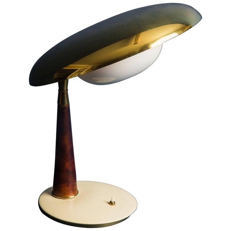 Angelo Lelli for Arredoluce Table Lamp, Italy, 1950s