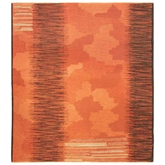 Vintage Alice Lund Flat-Weave Rug