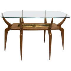 Italian Spider-Leg Cocktail Table Attributed to Ico Parisi