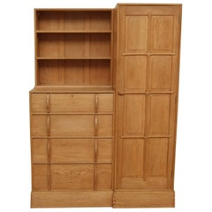 Oak Compendium Wardrobe and Chest of Drawers