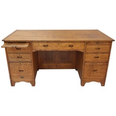 Ambrose Heal Oak Desk