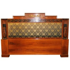 Empire Style Headboard with Versace Fabric