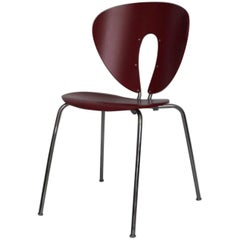 Red Globus Chair by Jesus Gasca for Stua