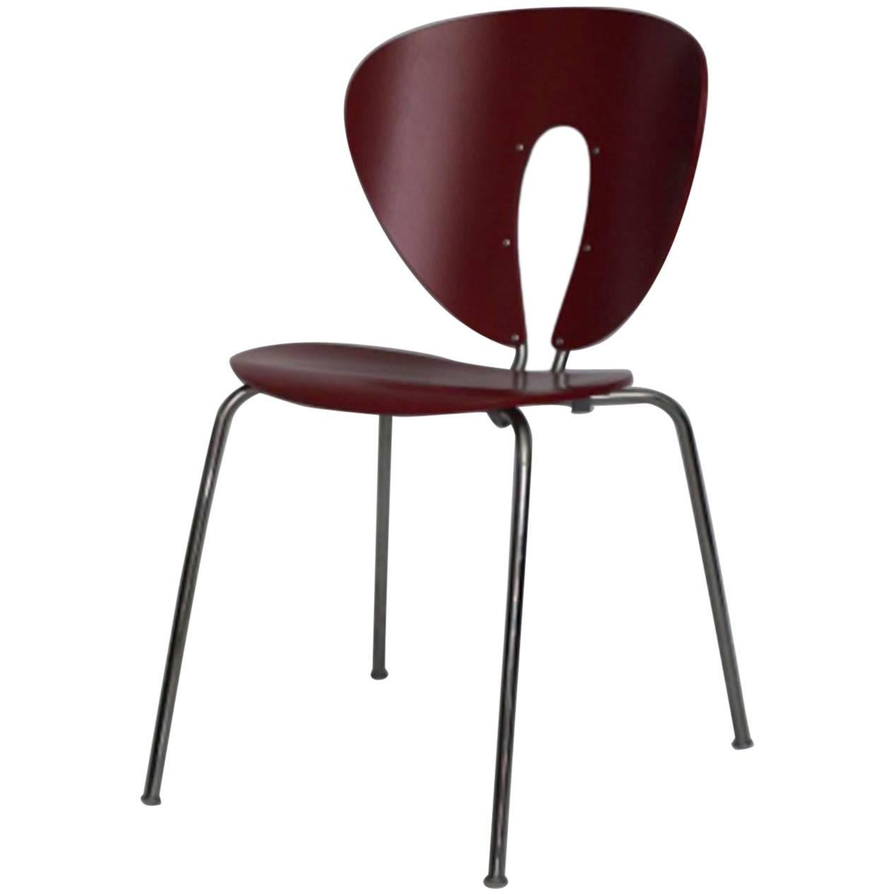 Red Globus Chair By Jesus Gasca For Stua For Sale