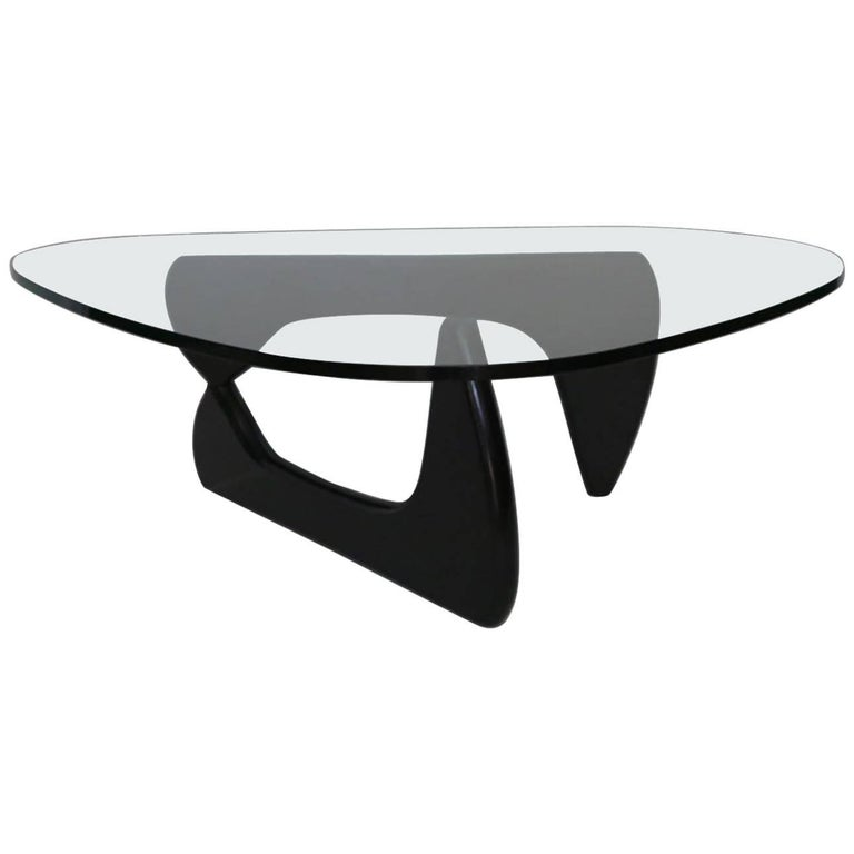 Signed authentic noguchi coffee table for herman miller c 2014 at 1stdibs Herman miller noguchi coffee table