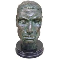 Julius Caesar Head Sculpture