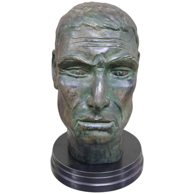 Julius Caesar Head Sculpture 1