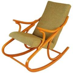 Bentwood Rocking Chair Ton, 1960s