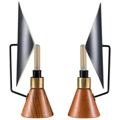 Mid-Century Modern Table Lamps by Svend Aage Holm-Sørensen for ASEA