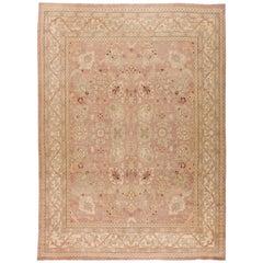 Traditional Oriental Inspired Tabriz Rug