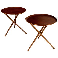 Pair of Tray Tables by Nils Trautner for Ary Nybro