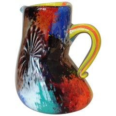 "Dino Martens Glass Pitcher ""Oriente"""