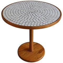 Gordon & Jane Martz Tile Top and Solid Walnut Dinette Table