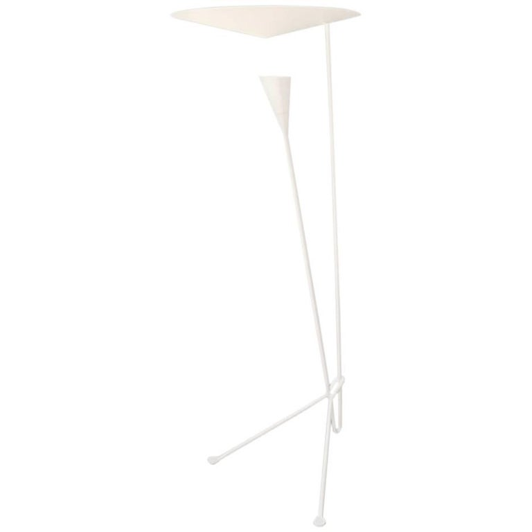 Michel Buffet B211 Floor Lamp White