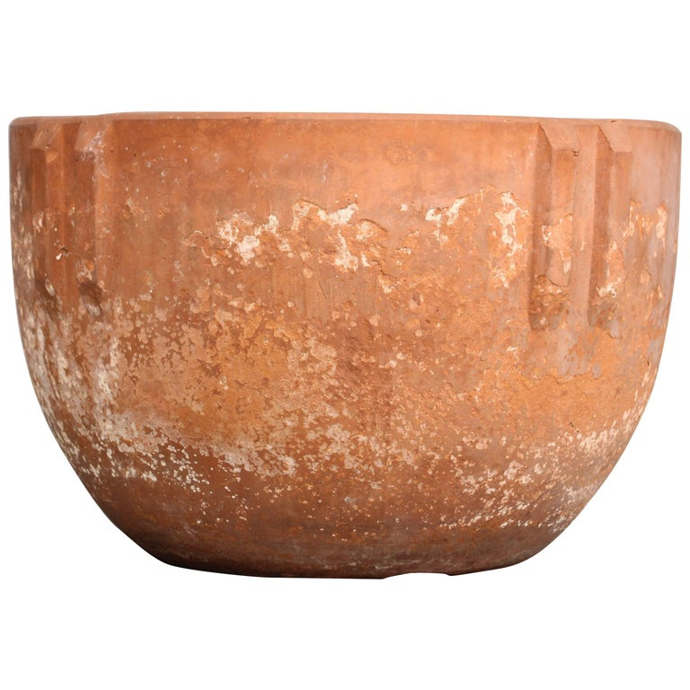 Bauer Indian terracotta planter, 1920s