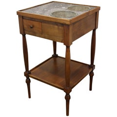 "Early 20th Century French Table ""Rafraichissoir"""
