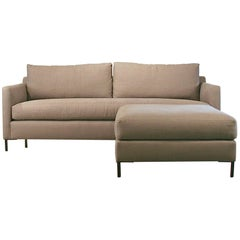 Radley Sofa and Ottoman from Cisco Brothers LA