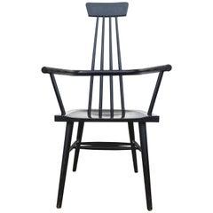 Rare 1950s Paul McCobb Lacquered Modernist Windsor Chair