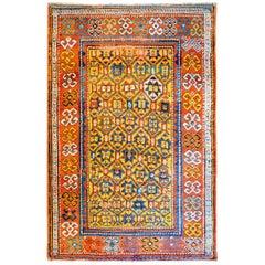 Fantastic Late 19th Century Kazak Rug