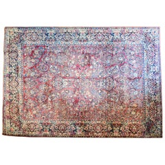 Exceptional Early 20th Century Sarouk Rug