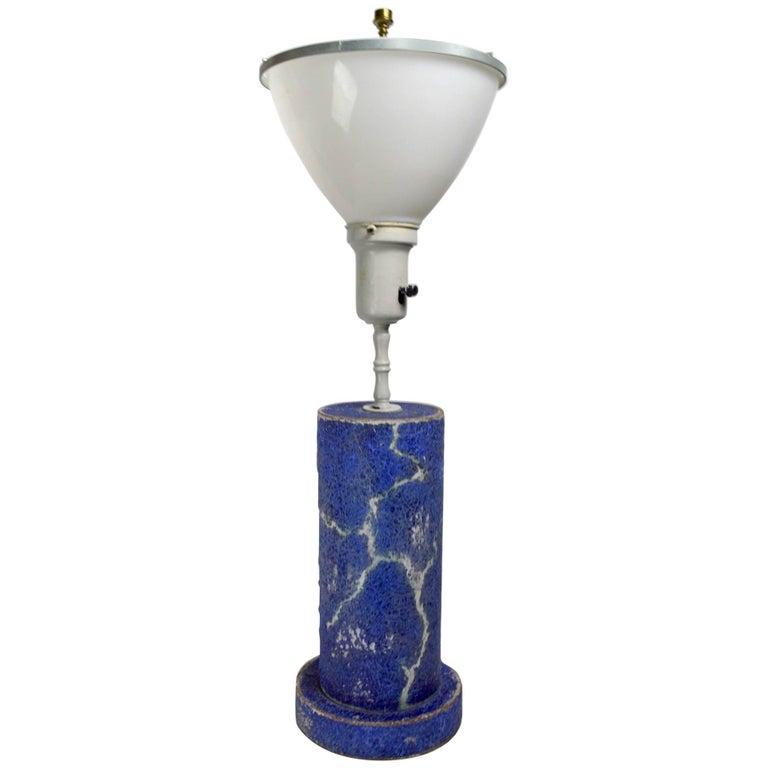 Ceramic Lamp Attributed to Bouck White
