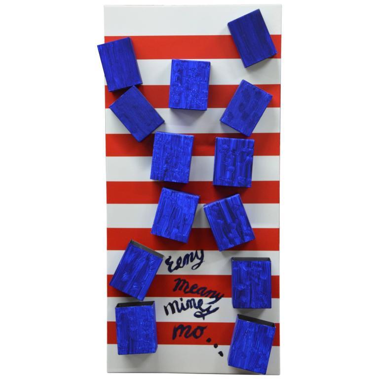 Contemporary Artist Ronn Jaffe's Iconic 'Holloman' Magnetic Sculpture