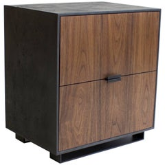 Hanks Concrete Bedside Table and Nightstand